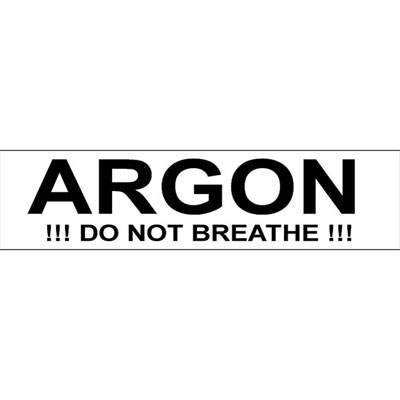 Sticker ARGON