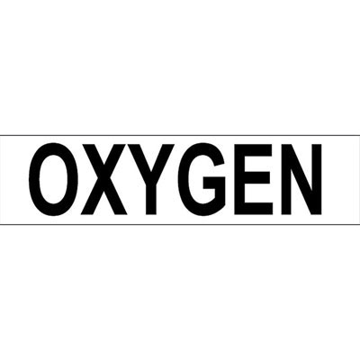 Sticker OXYGEN / Large